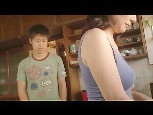 Japanese mom caught son masturbating