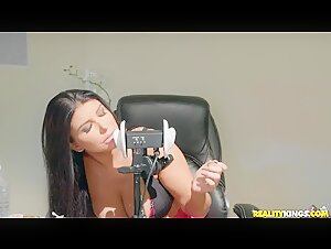 Romi Rain Does ASMR! And A Big Black Dick Too.