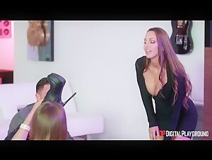 Bridgette B & Ms. Mac Go For ALL The Cock In The House