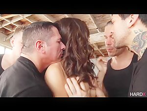 Exquisite Lana Rhoades Gets Destroyed In Her First Gang Bang