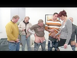 Old Brat Gangbanged By A Team Of Horny Men Old Lady Gangbanged By A Team Of Horny Men