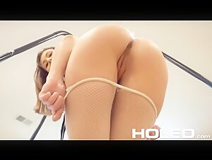 Promiscuous Paige Owens' Sex Swing Anal