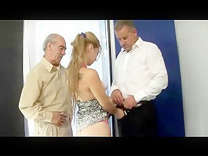 88 year grandpa old young old man fucked young girl