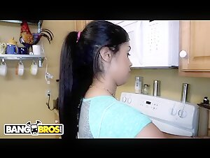 BANGBROS - Hispanic Housekeeper With Tight Body Getting Dicked On The Job