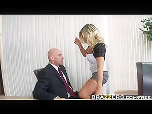Big Tits at Work - Downsizing scene starring Kristal Summers