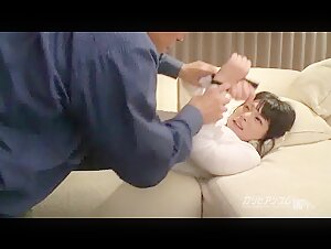 Tied up Busty Asian bdsm session Ai Uehara Uncensored
